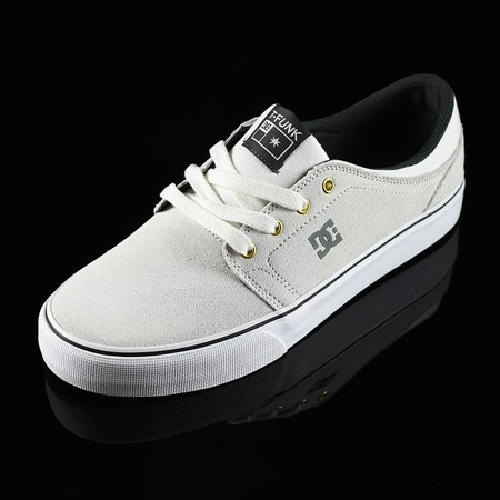 DC Shoes Trase S SE Tristan Shoes White, Green in stock now.