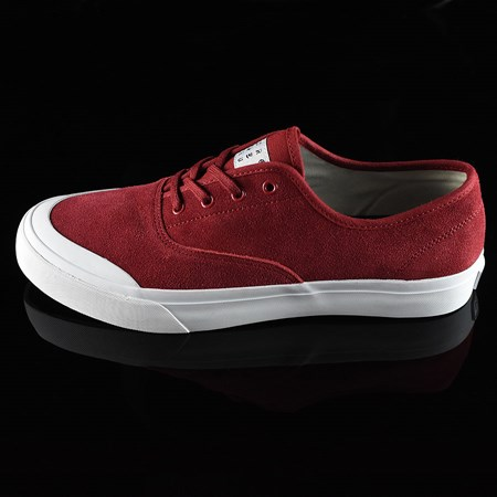 Size 11 in HUF Cromer Shoes, Color: Red