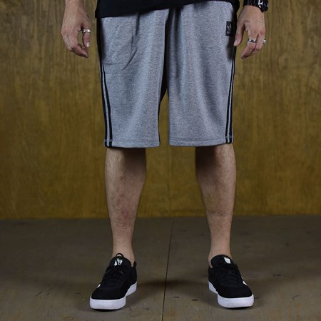 adidas Clima Knit Shorts Grey