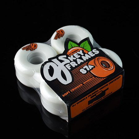 OJ III Wheels Plain Jane Keyframe Wheels White