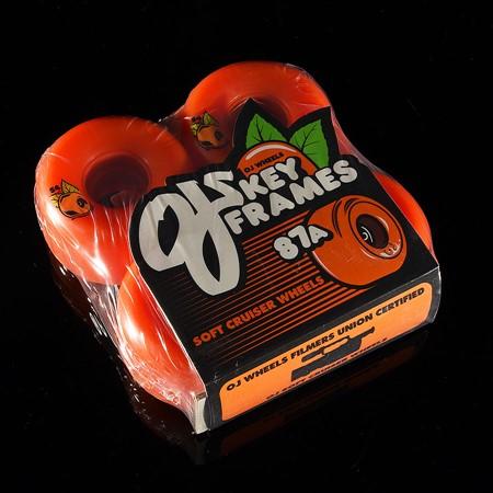 OJ III Wheels Plain Jane Keyframe Wheels Orange