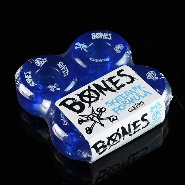 Bones Wheels SPF Clears Wheels Clear Blue