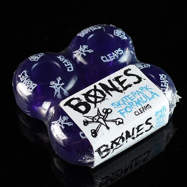 Bones Wheels SPF Clears Wheels Clear Purple