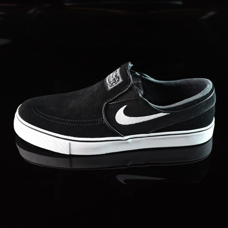 Nike SB Zoom Stefan Janoski Slip Shoes Black, White in stock now.