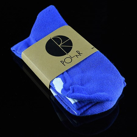 Polar Happy Sad Sock Classic 80's Blue in stock now.