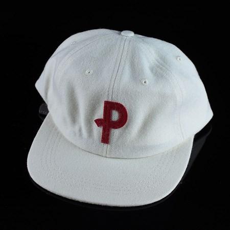 Polar Baseball Cap 6 Panel Hat Off White Adjustable