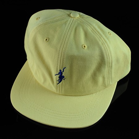 Polar No Comply 6 Panel Pastel Yellow in stock now.