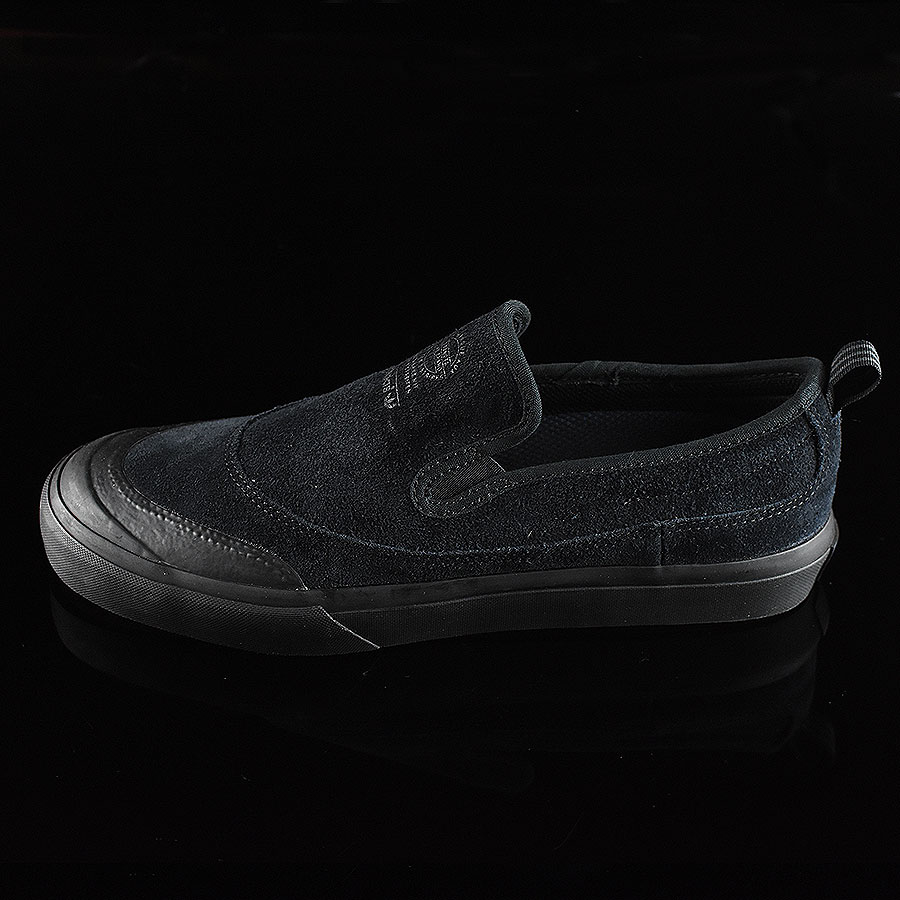 Black, Black Shoes Matchcourt Slip Shoes in Stock Now