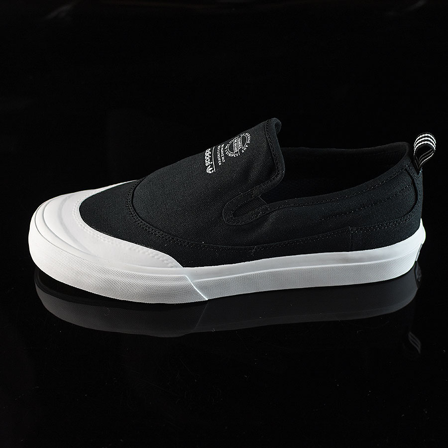 Black, White Shoes Matchcourt Slip Shoes in Stock Now