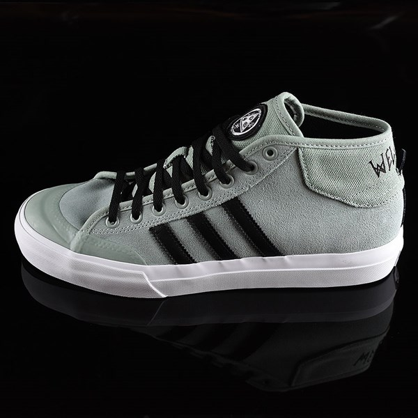 outlet store 58ba2 2e148 adidas Matchcourt Mid x Welcome Shoes Green, Black