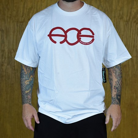 Ace Rings T Shirt White in stock now.