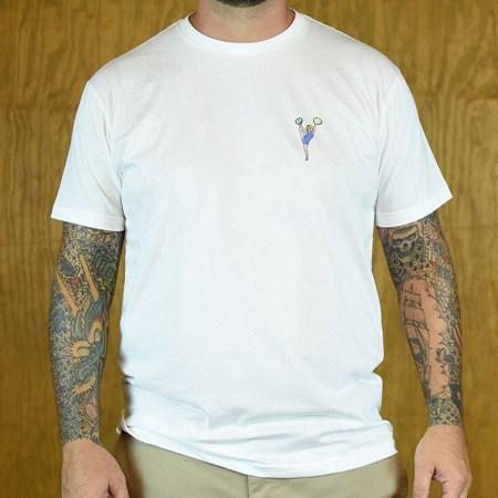 WKND Cheer T Shirt White