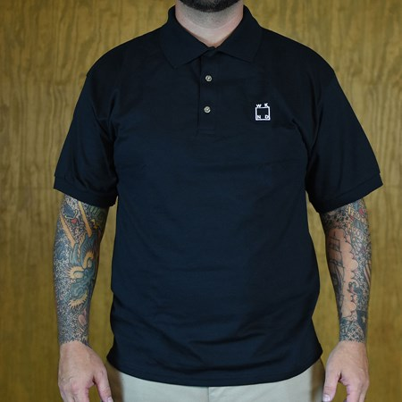 WKND WKND Logo Polo Shirt Black