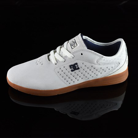 Size 9 in DC Shoes New Jack S Felipe Shoes, Color: White, Gum