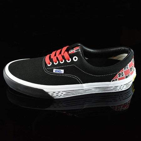Vans Era Pro 50th 90's MTV Shoes Black, White, Red