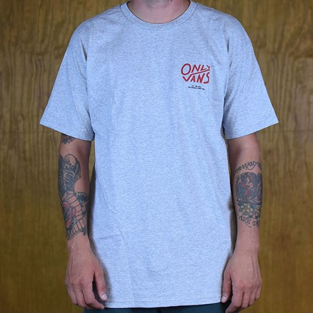 Vans Vans X Only Marshes T Shirt Athletic Heather in stock now.