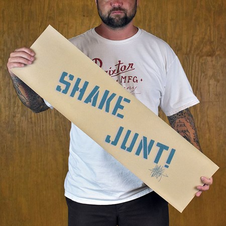 Shake Junt Ishod Clear Griptape Clear, Blue in stock now.