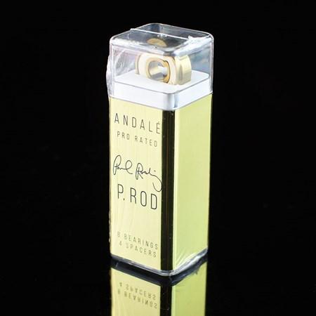 Andale Bearings P-Rod Pen Box Bearings Gold