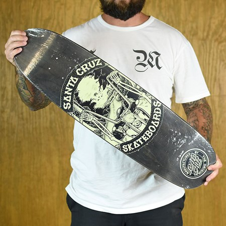 Santa Cruz Sleazy Rider Deck Black in stock now.