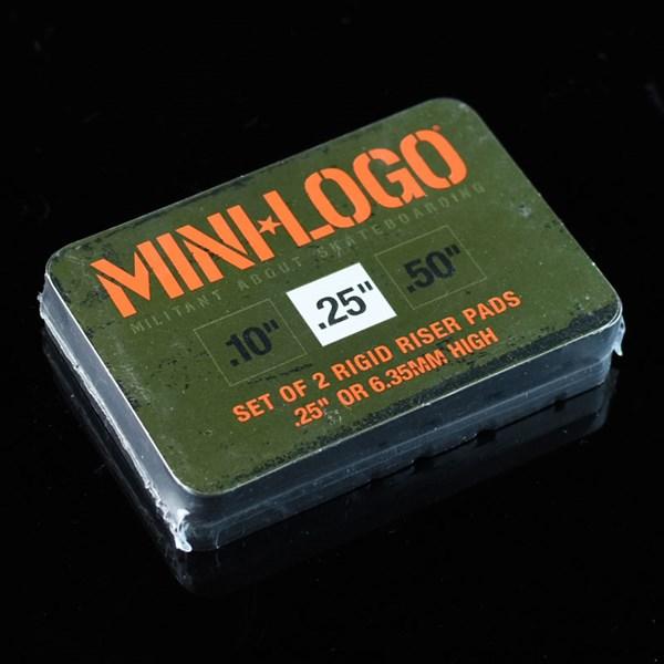 Mini Logo Riser Pad Set Black