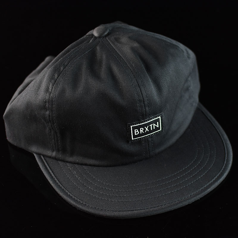 Black Hats and Beanies Jonas Cap in Stock Now