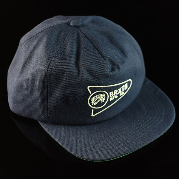 Brixton Fury LP Snapback Hat Navy