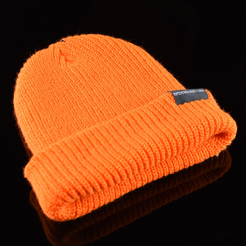 Burnt Orange Hats and Beanies Hard Luck FU Prayer Beanie in Stock Now