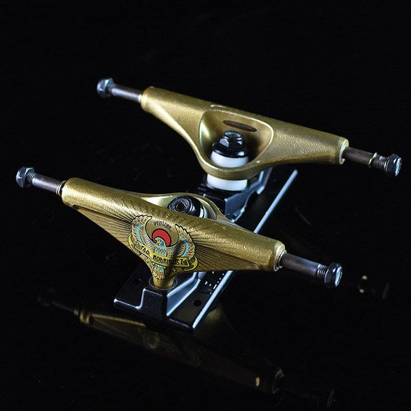 Venture Paul Rodriguez V-Hollow Lights Falcon Trucks Gold