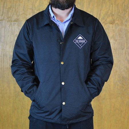 The Boardr The Boardr Logo Rain Jacket Black