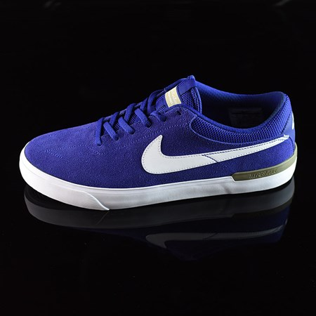 Nike SB Koston Hypervulc Shoes Deep Royal, White