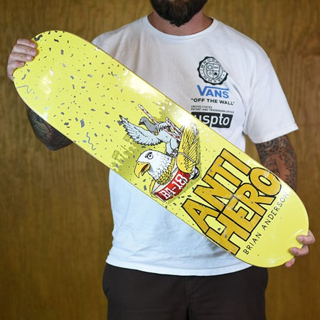 Anti Hero Brian Anderson First Deck Assorted Stains