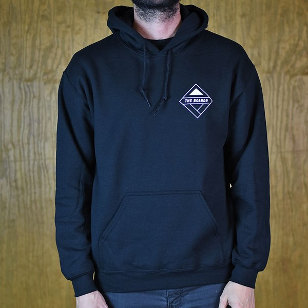 The Boardr The Boardr Logo Hooded Sweatshirt Black