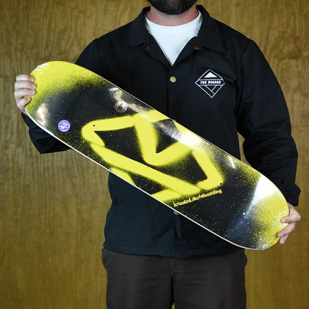 Krooked Birdical Deck Black, Yellow