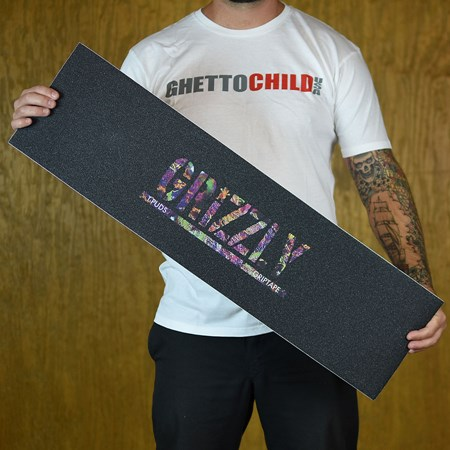 Grizzly Griptape Torey Pudwill Fuity Pebbles Stamp Grip Black
