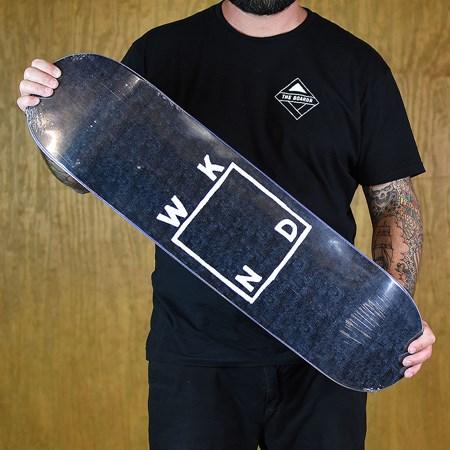 WKND Sketch Logo Deck Black