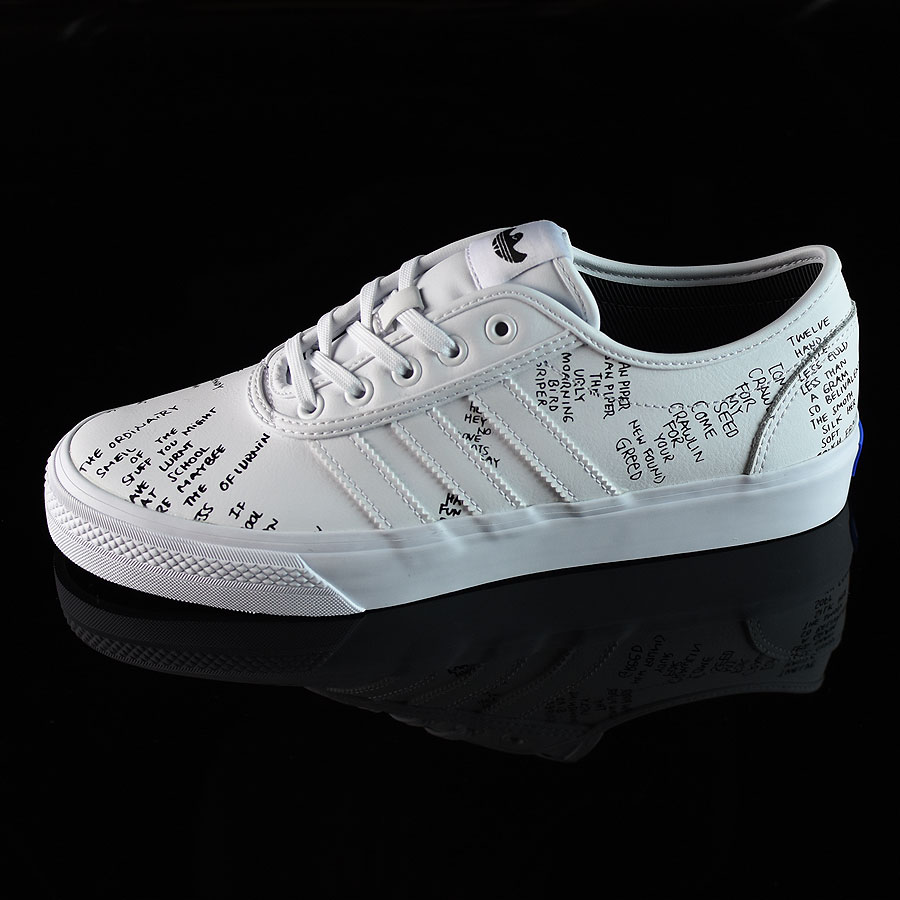 White, Black Shoes Adi-Ease Classified Shoes in Stock Now