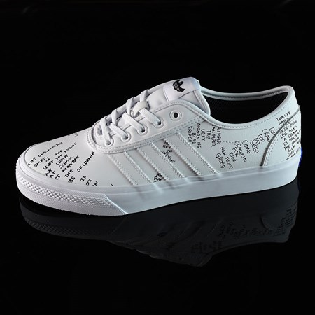 Size 9 in adidas Adi-Ease Classified Shoes, Color: White, Black