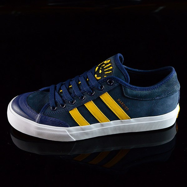 best service 1f9f8 398ea adidas adidas X Hardies Matchcourt Shoes Navy, Yellow, White