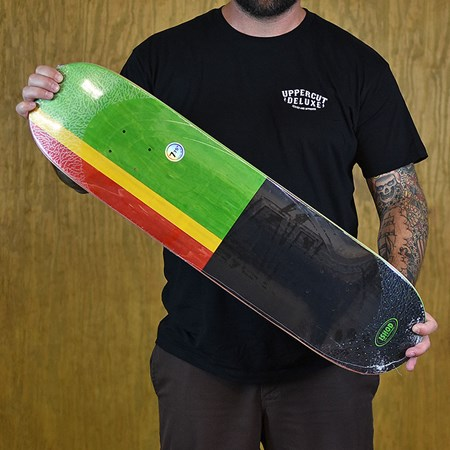 Real Ishod Wair Exclusive Embossed Deck Rasta 7.75 X 31.5 WB: 14