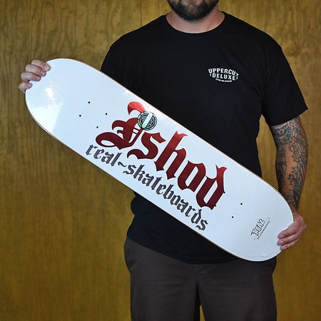 Real Ishod Wair Ghetto Cowboy 2 Deck White in stock now.