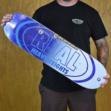 Real Heavyweight Deck Blue 8.38 X 32.25 WB: 14.5