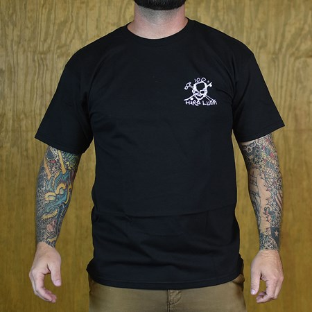 Hard Luck Mfg Hardluck T Shirt Black
