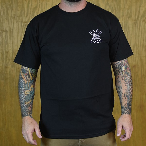 Hard Luck Mfg Team Go Fast T Shirt Black