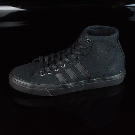 Size 8 in adidas Matchcourt RX Shoes, Color: Black, Black