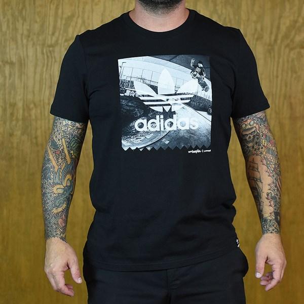 adidas London Photo T Shirt Black