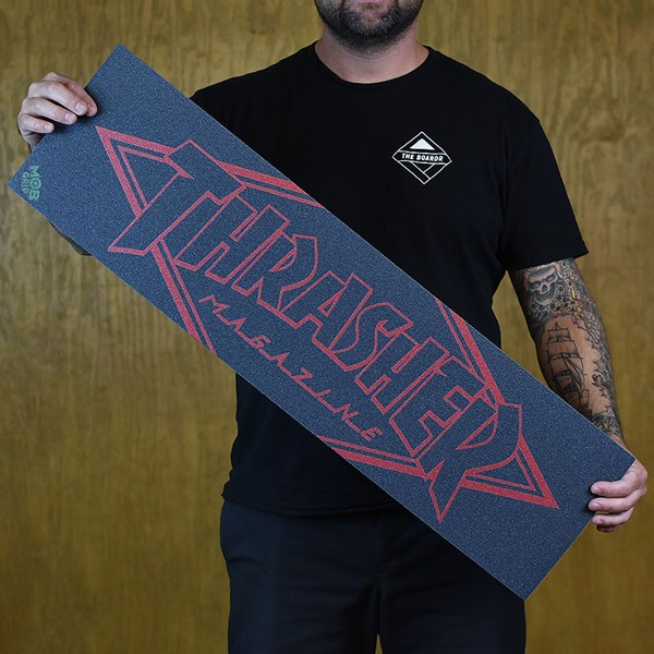 Mob Grip Tape Red Diamond Grip Black