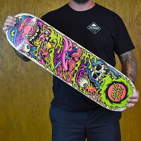 Santa Cruz Gorendo Team Deck Multi Colored in stock now.