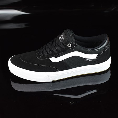 Size 11 in Vans Gilbert Crockett Pro 2 Shoes, Color: Black, White
