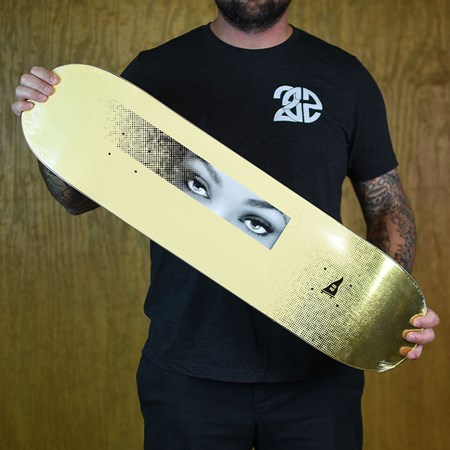 Primitive Paul Rodriguez Eyes Deck Yellow in stock now.
