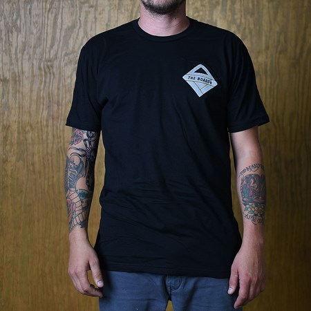 The Boardr Gunner T Shirt Black